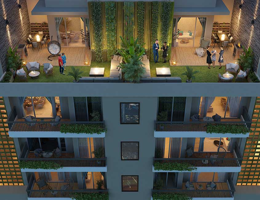 Penthouse For Sale in Zirakpur, PENTHOUSES